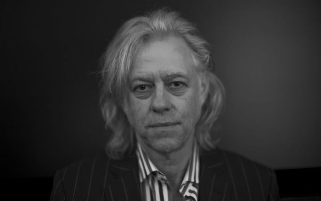 Irish musician and philanthropist Sir Bob Geldof.