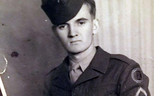World War II veteran Eddie Concannon, photographed in 1947.