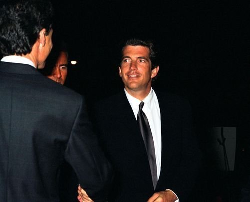 Impossibly handsome, talented and smart - John F Kennedy Jr.