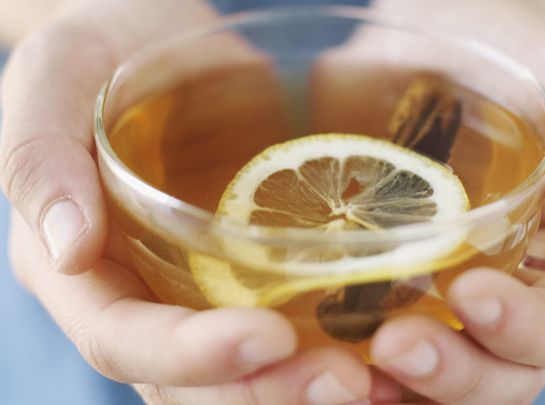 Hot whiskey for Irish Whiskey Day! Not an actual solution but you\'ll finally get some sleep and feel marginally better ...