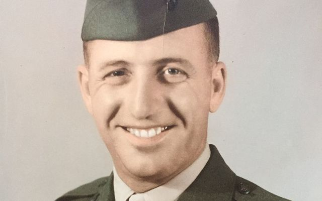 Chris Devoy in his time as a Master Sergeant in the United States Marine Corps