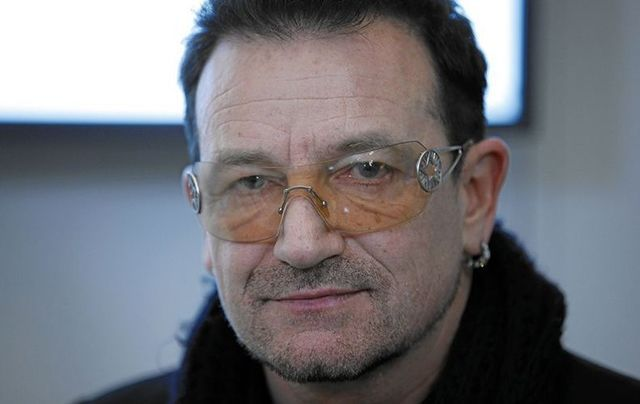 Bono, photographed at the World Economic Forum Annual Meeting, in 2011.