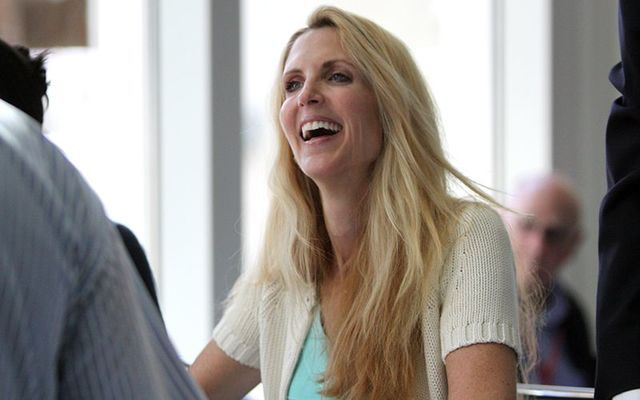 """Ann Coulter: \""""A host of pro-Trump pundits... are well-known for their views about cutting back on immigration in the U.S.\"""""""