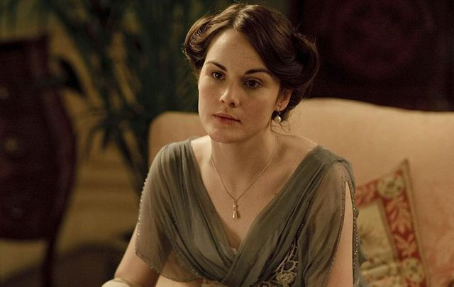 Downton Abbey star Michelle Dockery.