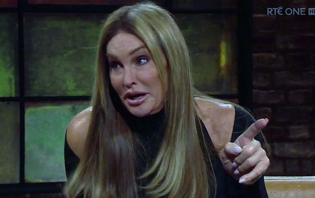 Caitlyn Jenner speaks about her Irish roots and the Kardashian on RTE\'s the Late Late Show.