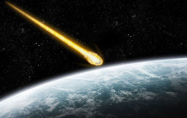 A fake meteor strike in a Northern Irish school turned a prank video into a unusual lesson with an impact.