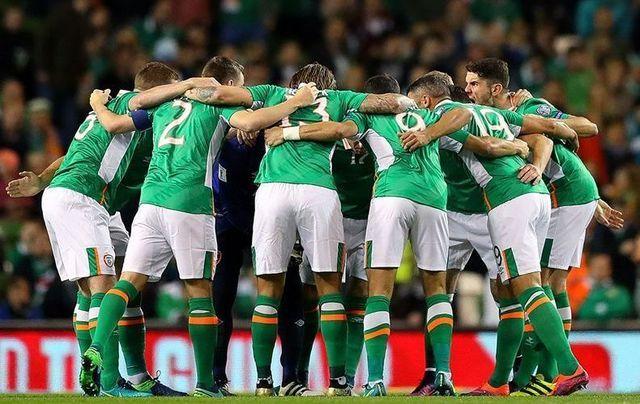 The Republic of Ireland soccer team.