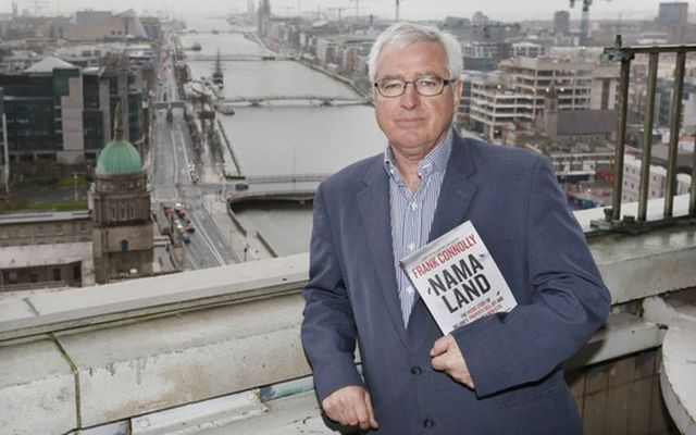 """Frank Connolly, author of new book \""""NAMA-land.\"""""""