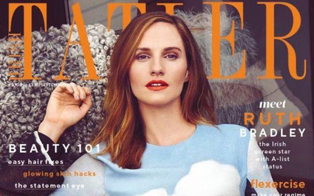 The September 2017 cover of the Irish Tatler magazine.