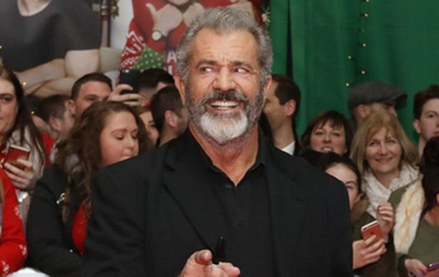 "Mel Gibson at the recent Irish premiere for ""Daddy\'s Home 2.\"""