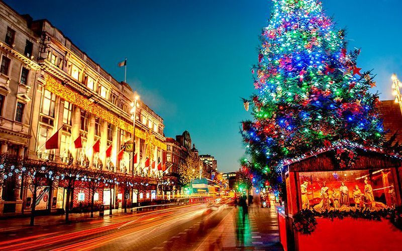 Christmas In Dublin Ireland.The Very Special Celebration That Is An Irish Christmas