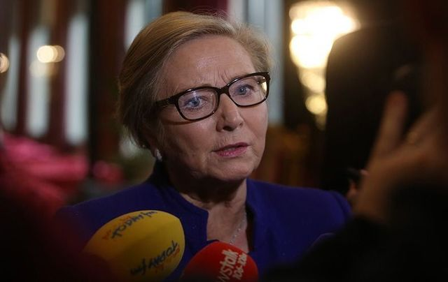 Ireland\'s Tanaiste (Deputy Prime Minister) France Fitzgerald.