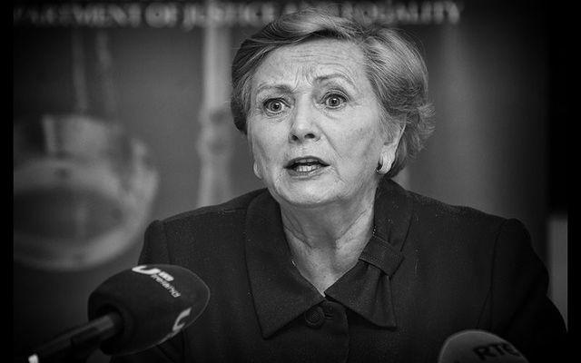 Under pressure: Former Minister for Justice, Ireland\'s Deputy Leader Frances Fitzgerald.
