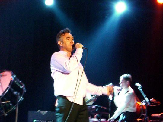 Morrissey in 2006.