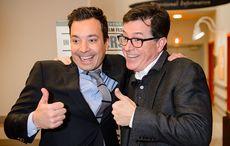 Jimmy Fallon fades fast as Colbert kicks ahead in battle of late night Irish American hosts