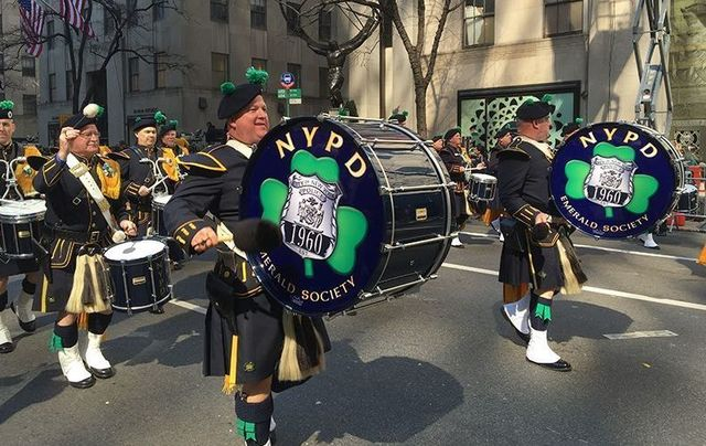 New York Saint Patrick\'s Day Parade.