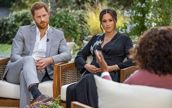 The Duke and Duchess of Sussex, Harry and Megan Markle.