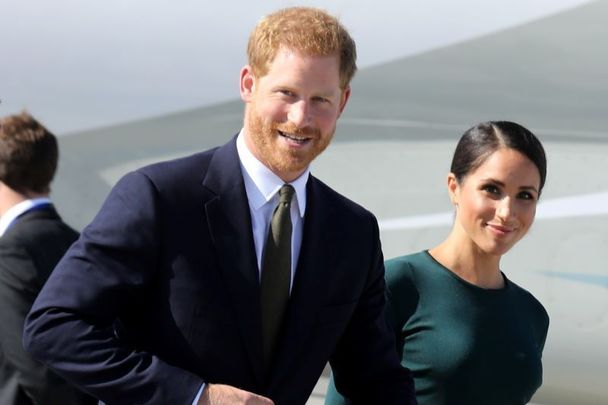 The Duke and Duchess of Sussex, Harry and Megan Markle, photographed during their trip to Ireland in 2018.