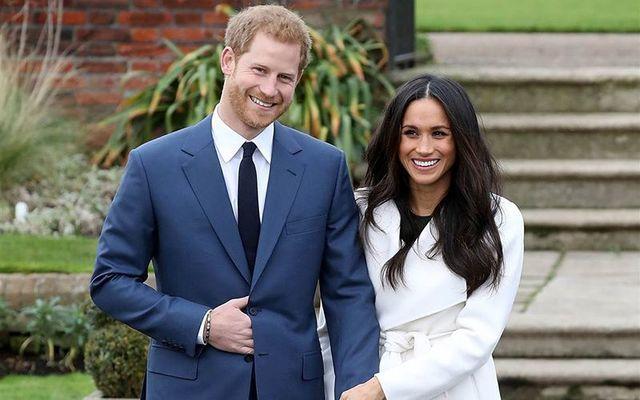 Prince Harry and his fiancee Meghan Markle.