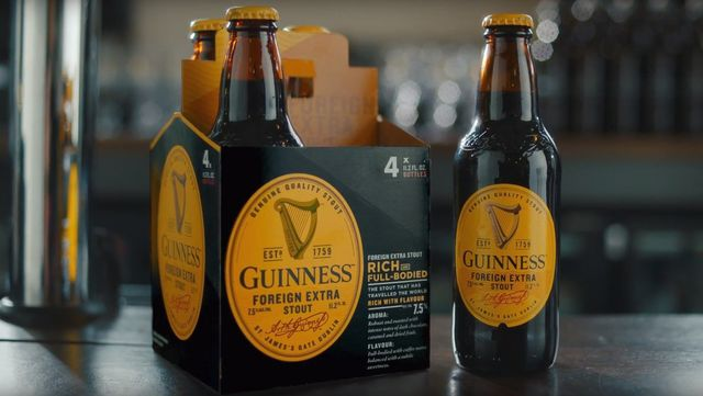 Guinness Foreign Extra Stout.