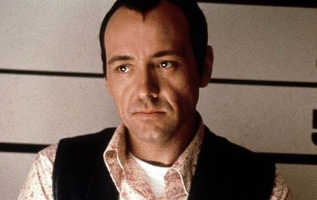 "Kevin Spacey, as Verbal Kent in ""The Usual Suspects\""."