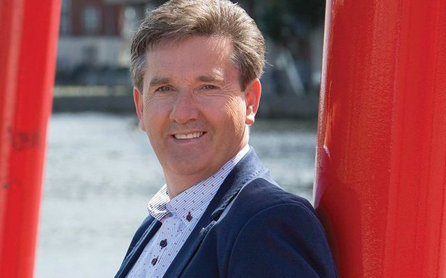 Cover photo for Daniel O\'Donnell\'s Living the Dream.