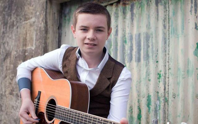 Young Co. Donegal singer Keelan once charted ahead of Taylor Swift in Irish country music charts.