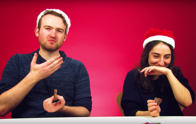 These Irish trying American Christmas candy will make you chuckle at the end of the first week of our Advent calendar 2017.