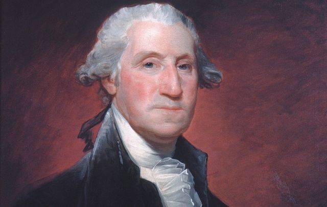 The first president of the United States, George Washington.