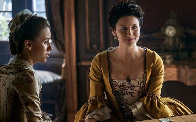 Caitriona Balfe in Outlander.