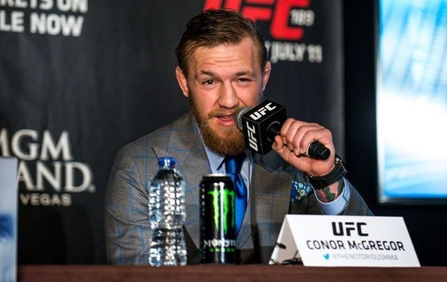 What\'s Conor McGregor at?!