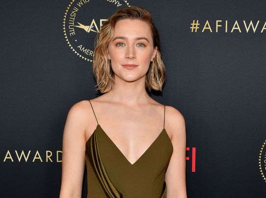 Irish Hollywood star Saoirse Ronan