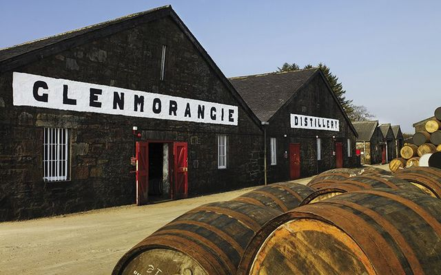 The Glenmorangie distillery