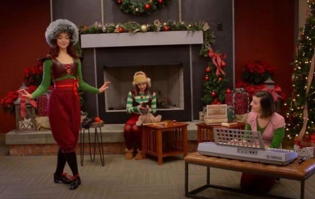 Watch Irish dancer Hannah Redlich take on a Christmas carol.