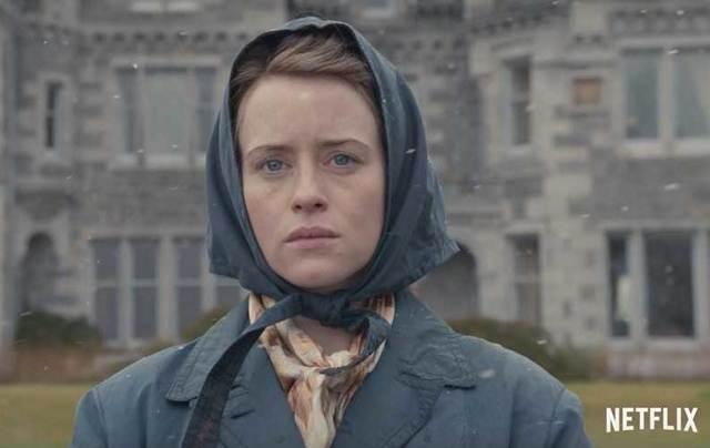 Claire Foy as Queen Elizabeth II in Netflix\'s \'The Crown.\'