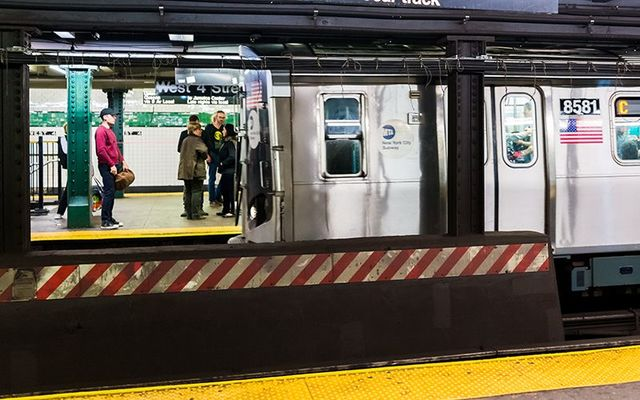 NYC Subway: 22-year-old Mary Downey, from Woodlawn, avoids death after falling on to the tracks near Times Square.