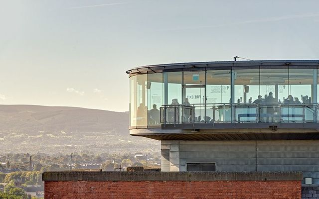 The Gravity Bar, at Guinness Storehouse, with unparalleled views of Dublin city and beyond.