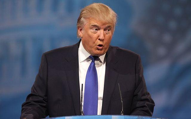 President Donald J Trump.