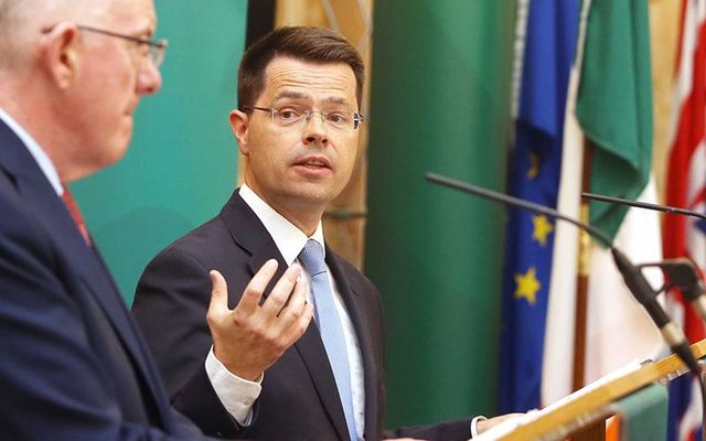 Former Northern Ireland Secretary of State, James Brokenshire.