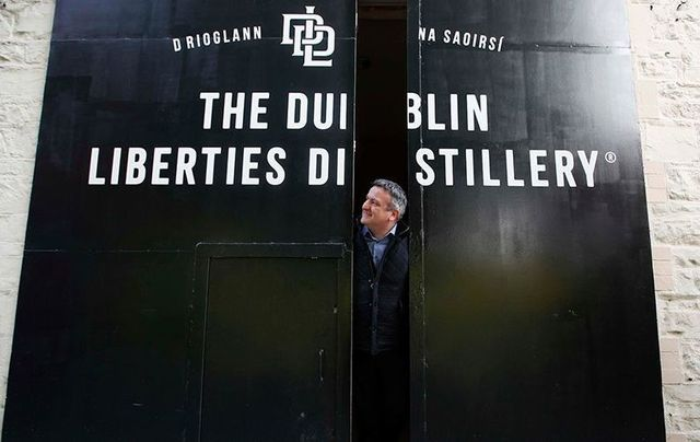 Darryl McNally, the Master Distiller for Dubliner Irish Whiskey at Dublin Liberties Distillery