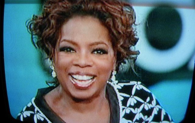 TV host Oprah Winfrey.