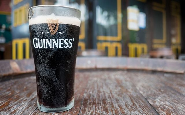 A pint of Guinness is only 210 calories! YAY!