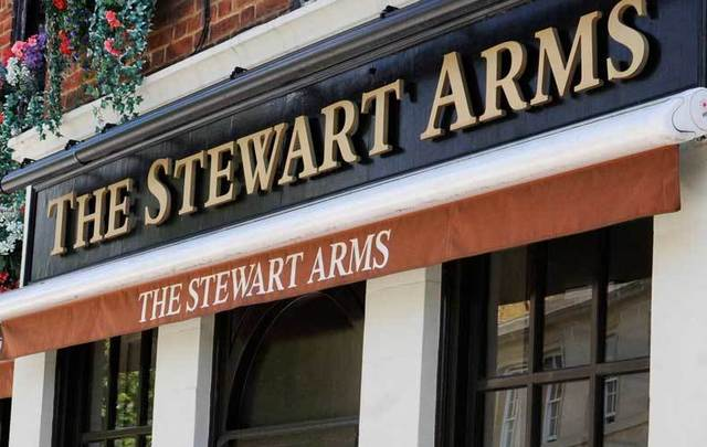The Stewart Arms pub in London.