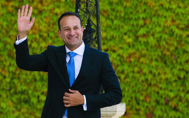 Ireland\'s leader Leo Varadkar.