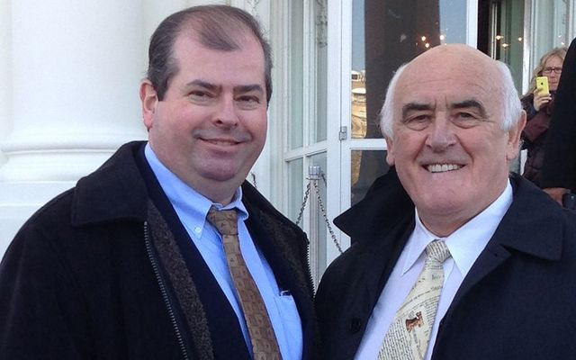AOH\'s Dan Dennehy and Senator Billy Lawless at the White House.