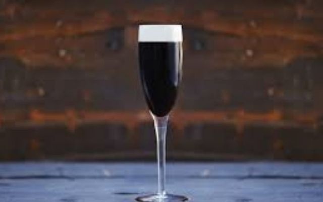 Indulge yourself in this champagne Guinness cocktail invented in 1861.