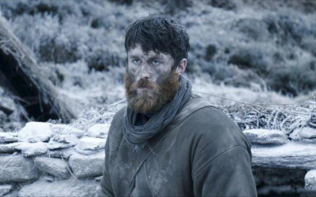 "Australian actor James Frecheville in \""Black 47.\"""