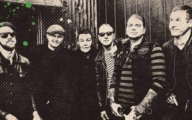 American Celtic punk band The Dropkick Murphys.