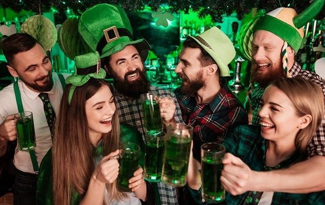 Wearing green, spending green, and consuming green on St. Patrick\'s Day
