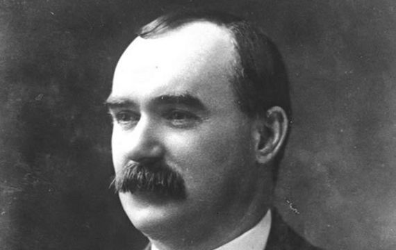 James Connolly was a Scottish-born republican and socialist leader.